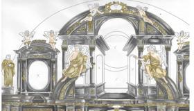 Obnova glavnog oltara u franjevačkoj crkvi u Varaždinu