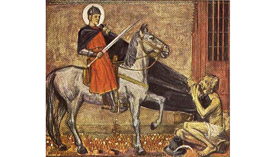Sv. Martin, Europljanin, simbol dijeljenja u 21. stoljeću