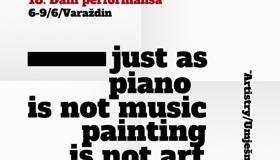 """18. DANI PERFORMANSA  - """"ARTISTRY/UMJEŠNOST"""""""