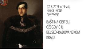 Baština obitelji Ožegović u belsko-radovanskom kraju