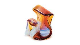 MIHAEL ŠTEBIH: Skulpture u kristalnom staklu i kamenu / Izložba u povodu autorovih 50 godina umjetničkog stvaranja