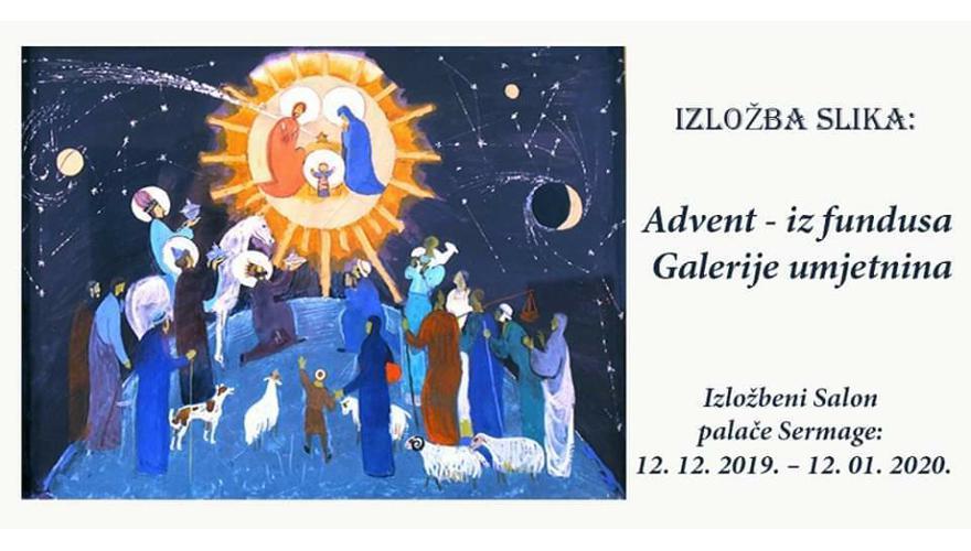 Izložba: Advent / Iz fundusa Galerije umjetnina