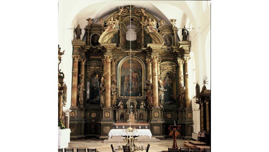 Konzervatorsko-restauratorski radovi na oltaru sv. Ivana Krstitelja franjevačkog samostana u Varaždinu
