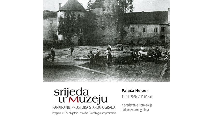 OTKAZANO / PARKIRANJE PROSTORA STAROGA GRADA / Uz 95. obljetnicu Gradskog muzeja Varaždin / 16. 11. 1925. – 16. 11. 2020.