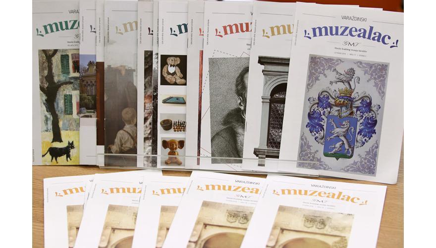 """KONFERENCIJA ZA NOVINARE: Posebno priznanje HMD-a za """"Varaždinski muzealac"""" / EU projekt """"Living Castles"""""""