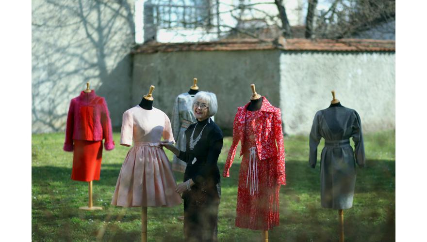 Modnim tragovima Varaždina - modna krojačica Katica Seglin